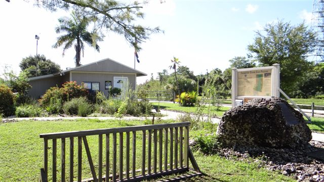 "At the Park Entrance you can see a property map and get a brochure at the visitor center office on Janes Scenic Drive. Mounted on a large limestone rock is a plaque dedicated to Mel Finn, the ""Father of Fakahatchee."" Read the history below."
