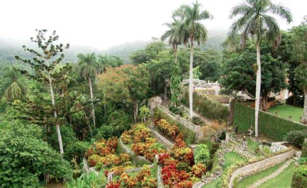 The view from Rolando's office above Soroa Botanical Garden