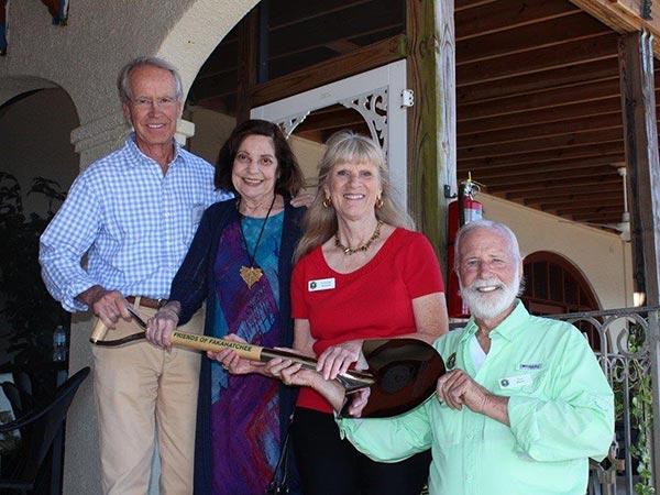2John-Elting-Elsie-Caldwell-Francine-Stevens--Tom-Maish-proudly-display-the-memorial-groundbreaking-shovel