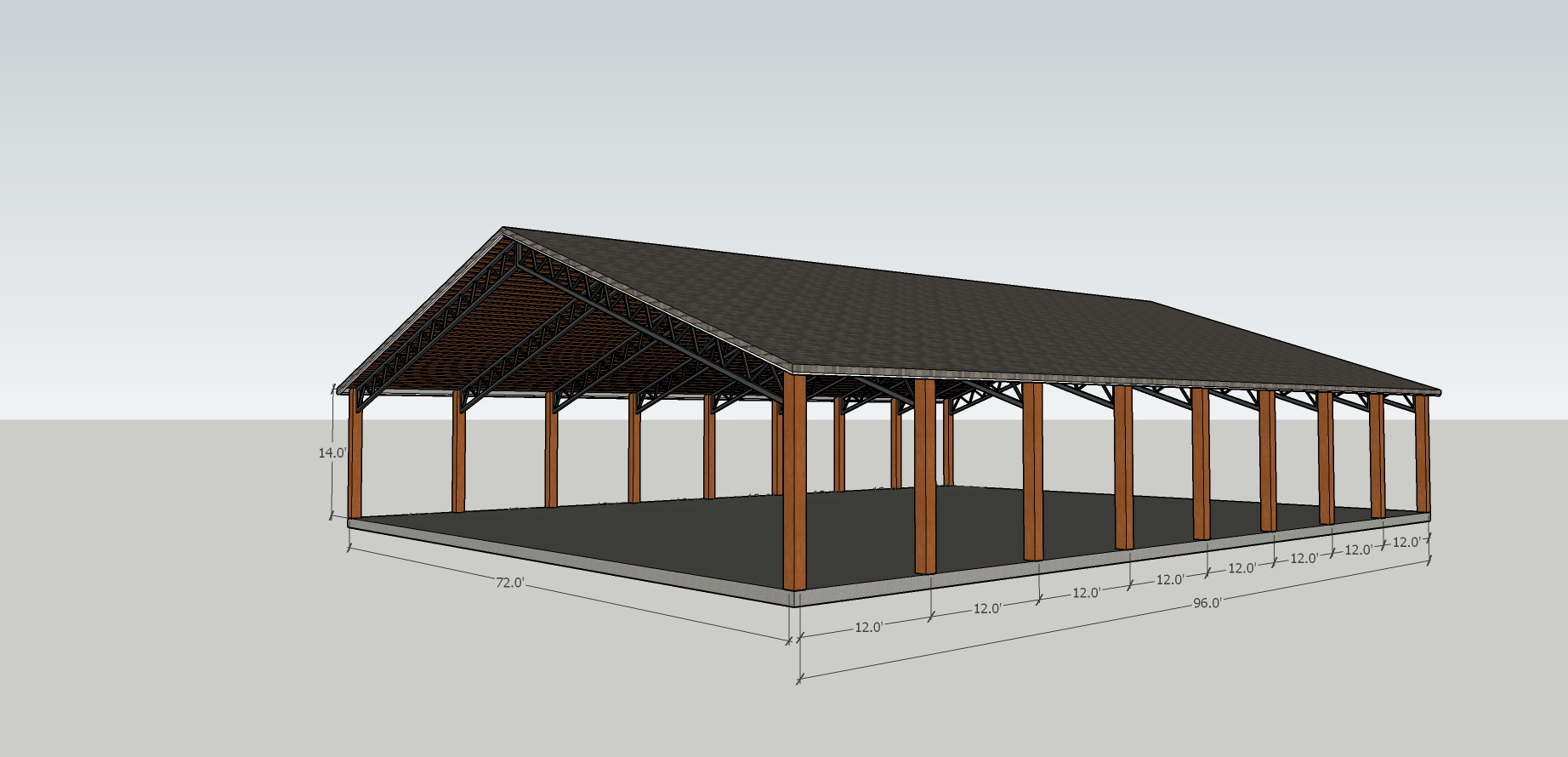 Support for the annual fund can help make the much needed pole barn a reality.
